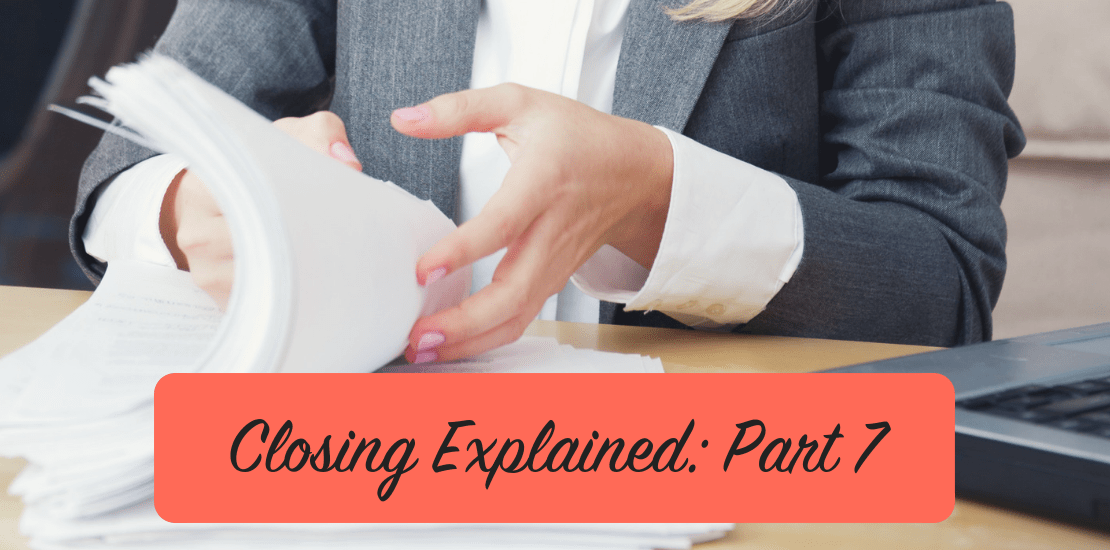 Closing Explained: Part 7, Divorce Decrees & Title